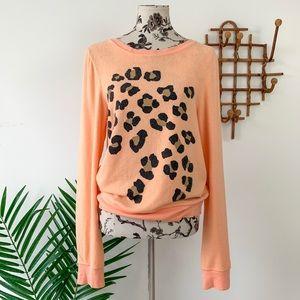 Wildfox Leopard Spot Sweater